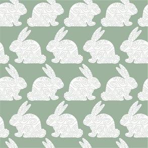 Sage Bunny Swirl