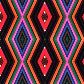 African diamond pattern
