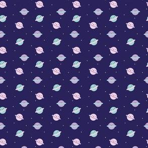 Mini Kawaii Pastel Planets