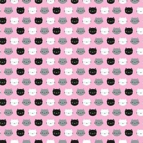Mini Cute Cats & Kawaii Kittens (Pink)