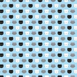 Mini Cute Cats & Kawaii Kittens (Blue)