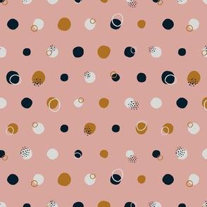 Blush Polka Dots