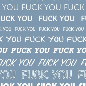 Loving the type rude fuck you design text print for expressive typography lovers or haters ochre yellow