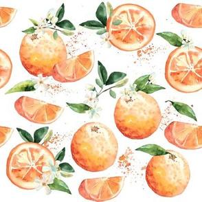Coastal Orange Blossoms // White