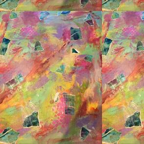Kaleidoscope Collage Abstract
