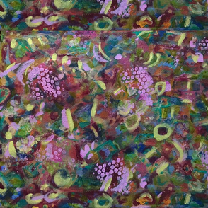 Grapes Abstract