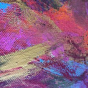 Brush Strokes Abstract