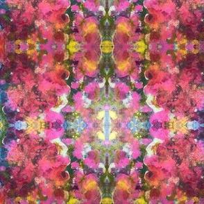 Abstract Fuschia Floral