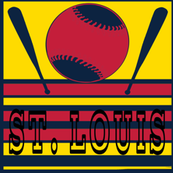 St Louis Baseball Team Colors City Name