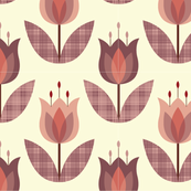 Tulip Flower Pink Medium