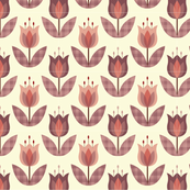 Tulip Flower Pink Small