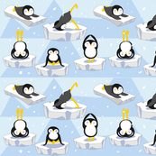 Penguin yoga