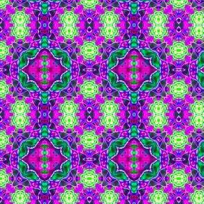 Purple Lace Starbursts