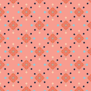 Tinker Toys coral blue aqua on coral 3000x3000-01