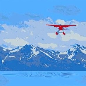 Alaska Floatplane Paint By Number
