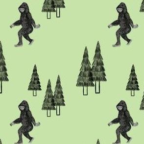 Spotting Sasquatch Green