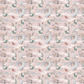 Oceana Mermaids (pink) xxxSML