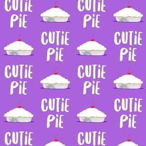 Cutie Pie - dark purple - LAD19