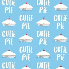 Cutie Pie - blue - LAD19