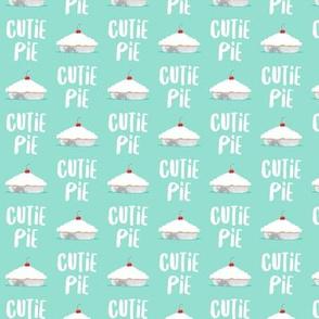 (small scale) Cutie Pie - aqua - LAD19