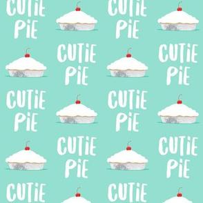 Cutie Pie - aqua - LAD19