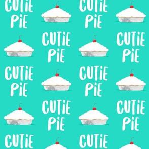 Cutie Pie - teal - LAD19