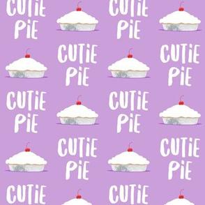 Cutie Pie - purple - LAD19