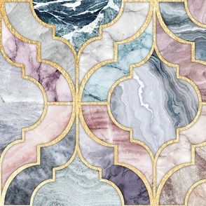 Marble Moroccan Tiles - large