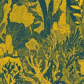 Sea Plant Pattern