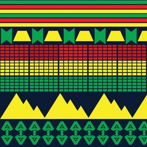 African Adinkra Design