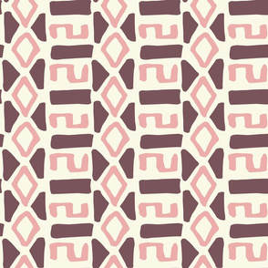Pink Fall Tribal
