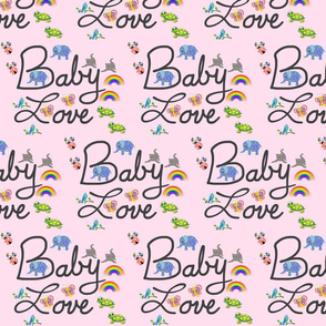 Baby Love - pink