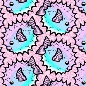Fugu Pattern - Candy Pastel