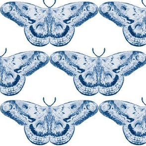 Delft Vibe Mystic Moth on White