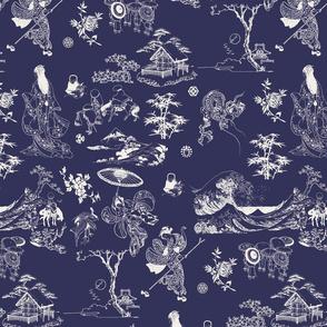Blue-Off white_AOP-Hokusai