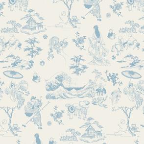 Off white-Pale Blue_AOP-Hokusai