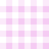 Pink White Check Watercolor Style