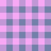 Pink Grey Buffalo Check
