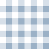 Blue White Check Plaid
