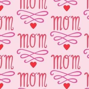 mom love pink