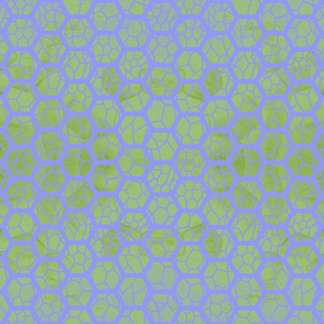 Lattice - green and purple