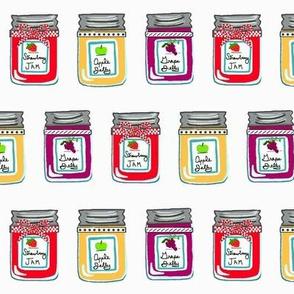 Homemade Preserves  / Jelly Jars