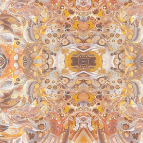 Fabric - Golds _ Browns 3