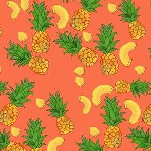Pineapples on Coral