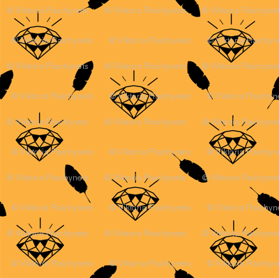 Diamond_pattern_vector_yellow_preview