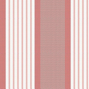 Ticking Triple Stripe in Coral Pinks