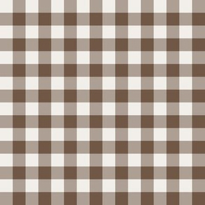 Gingham brown sugar