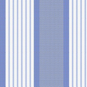 Ticking Triple Stripe in Blue