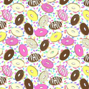 doughnuts small scale
