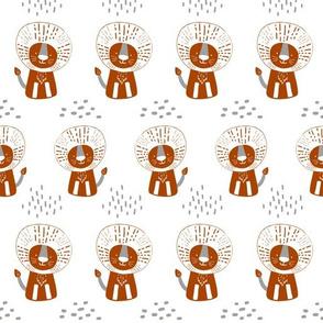 Orange Lion V01
